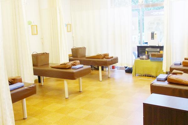 清潔感のある施術室